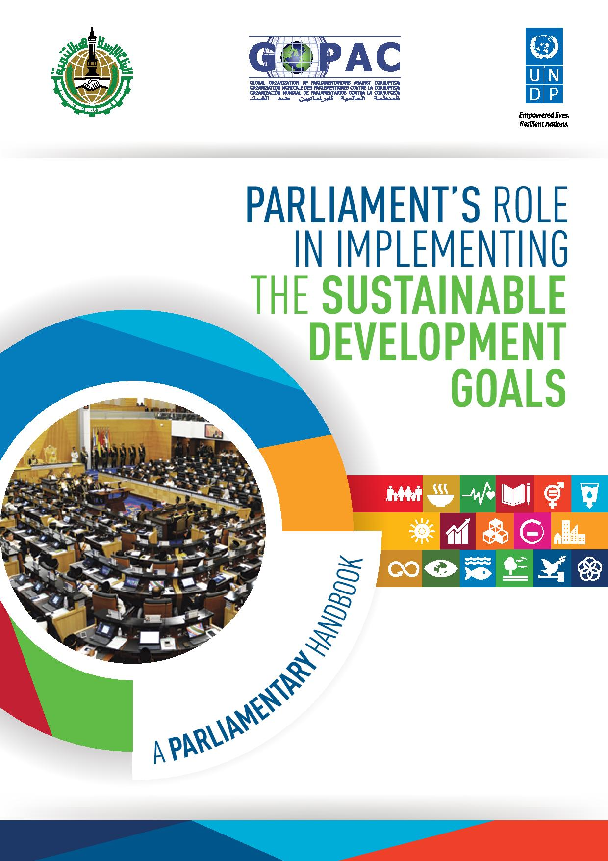 Parliament's role in implementing the sustainable development goals
