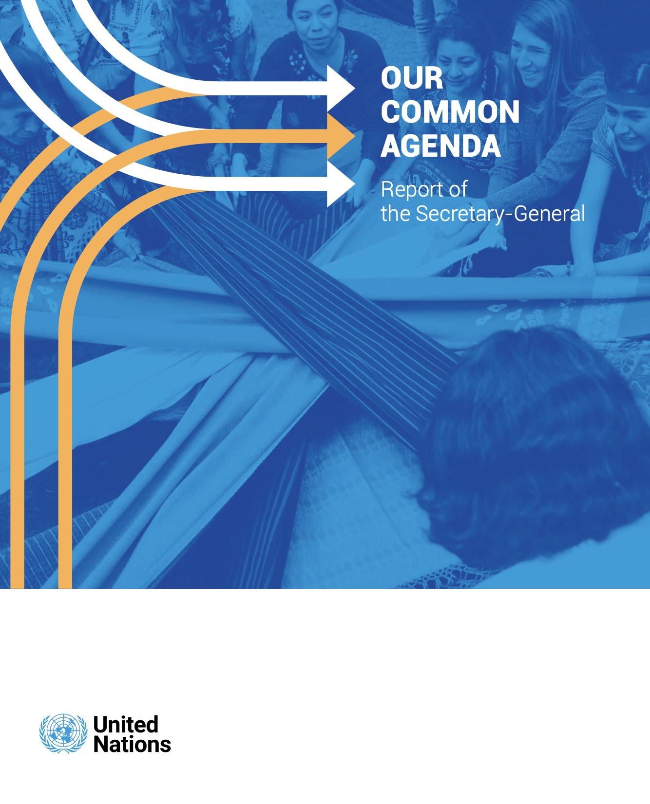 Our Common Agenda report