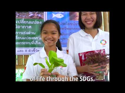 Thai students localise the Global Goals in their school