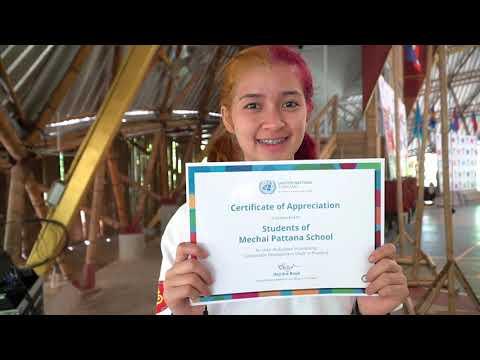 UN Thailand's Celebration of 2019 UN Day in Buriram, Thailand
