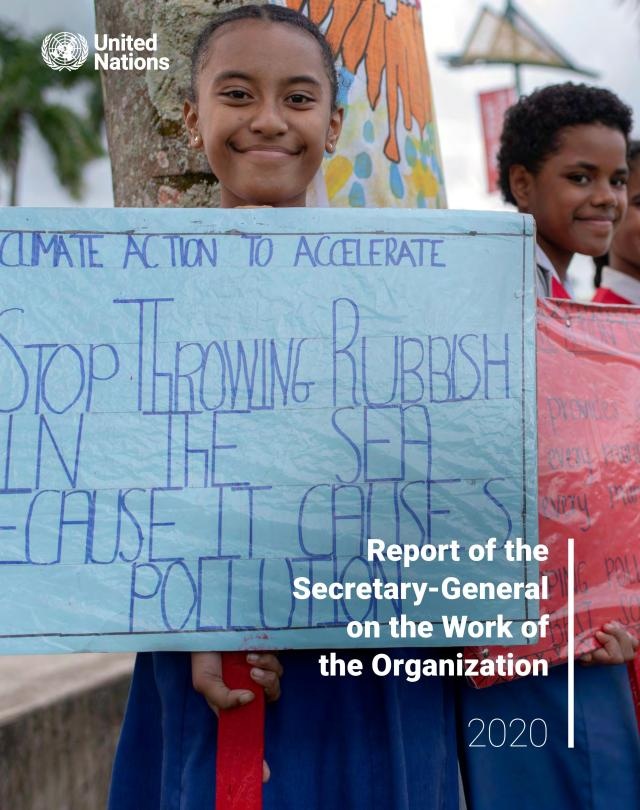 Report of the Secretary-General on the Work of the Organization 2020